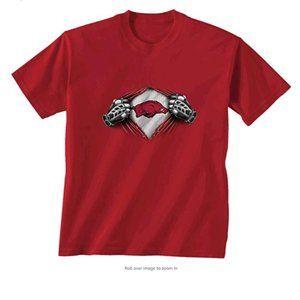 New World Graphics NCAA Arkansas Razorbacks Childr
